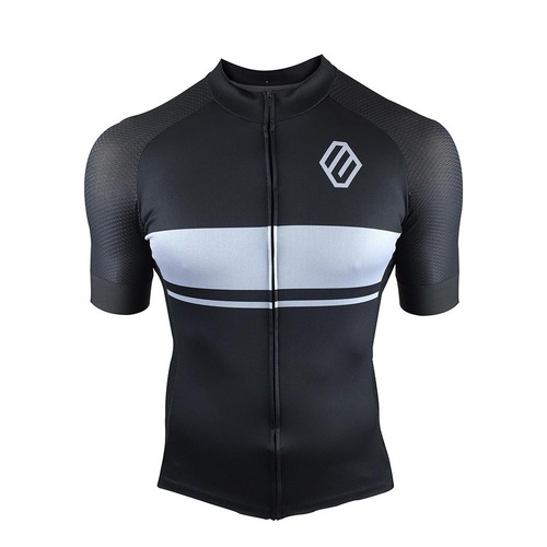 Entity MJ15 Cycling Jersey - Black/Grey