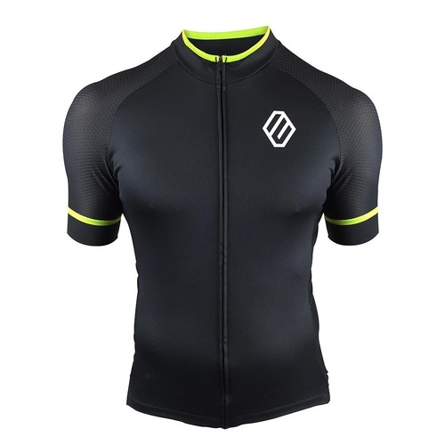 Entity MJ30 Cycling Jersey - Black/Green