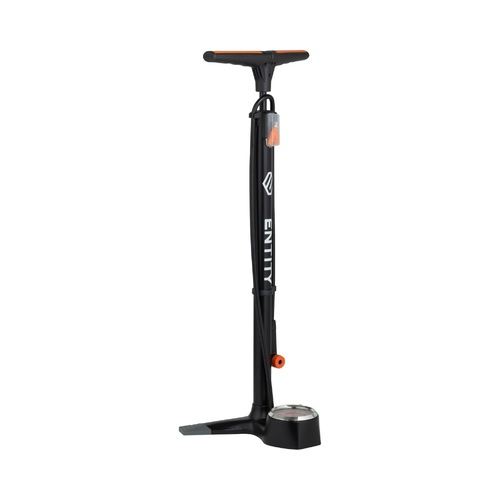 Entity FP30 Professional High Pressure Alloy Floor Pump with Gauge + Smart Head