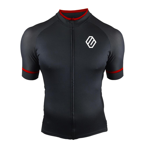 Entity MJ30 Cycling Jersey - Black/Red