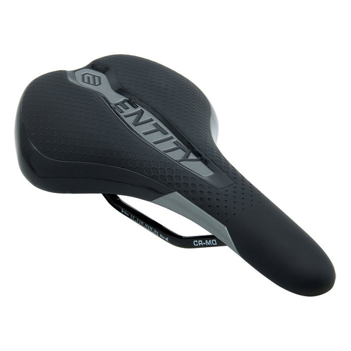 Entity Assault Saddle CR-MO - Black/Charcoal